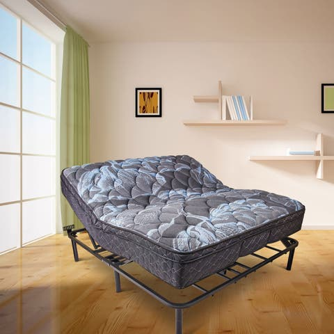 Wolf Corporation's Queen Size Adjustable Bed Base with Wireless Remote