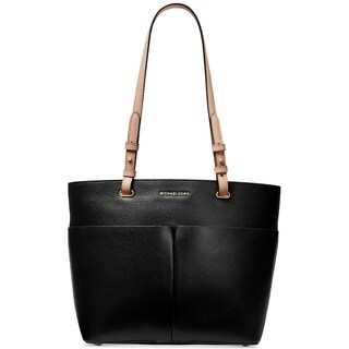 Link to MICHAEL Michael Kors Bedford Pebble Leather Pocket Tote Black Similar Items in Shop By Style