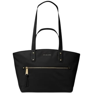Link to MICHAEL Michael Kors Polly Top Zip Nylon Tote Black Similar Items in Shop By Style