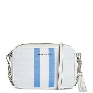 Link to MICHAEL Micheal Kors Signature Camera Bag Grecian Blue Multi Similar Items in Shop By Style