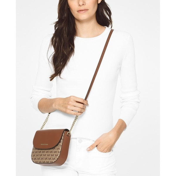 Shop MICHAEL Michael Kors Signature Half Dome Crossbody