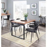 The Gray Barn Bountiful Industrial Upholstered Chair