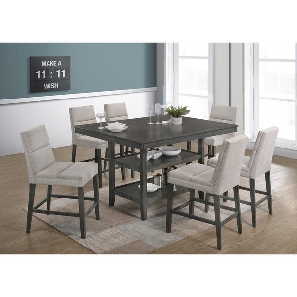 Shop Best Quality Furniture 7-Piece Counter Height Dining