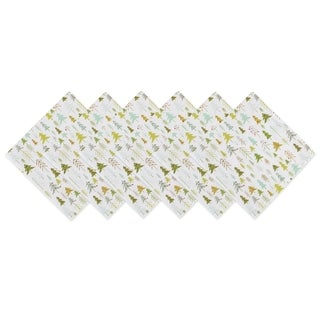 DII Holiday Woods Printed Napkin (Set of 6)