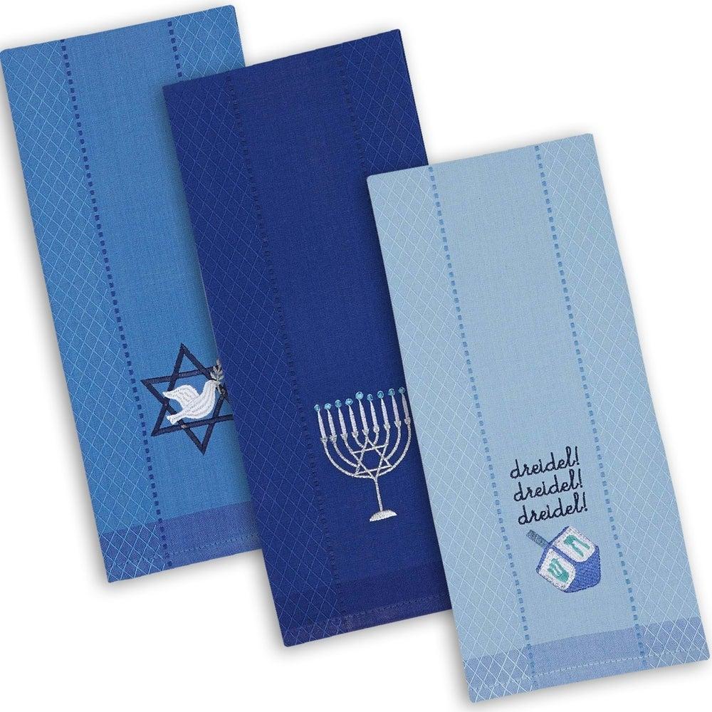 Hanukkah Dish Towels