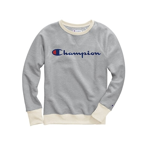 Champion Women's Plus Powerblend® Graphic Crew
