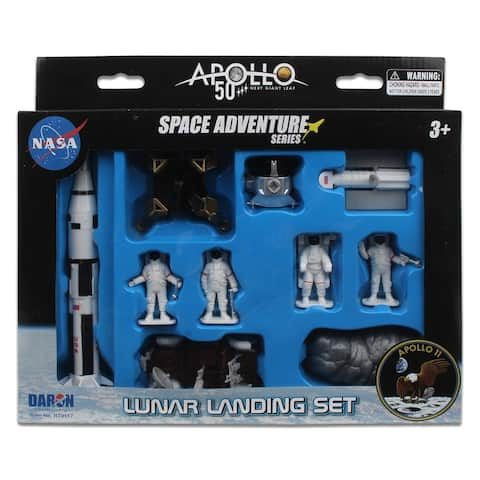Daron Space Space Adventure NASA Apollo 11 50th Annivarsary Play Set