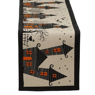 DII Haunted House Table Runner