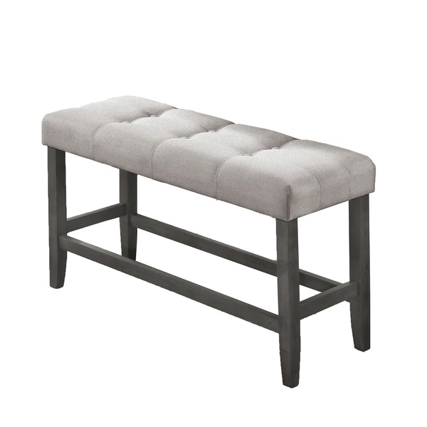 Shop Best Quality Furniture Counter Height Bench Only