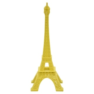 "14.5 "" Eiffel Tower Tabletop in Yellow - 6 x 6 x 14.5"