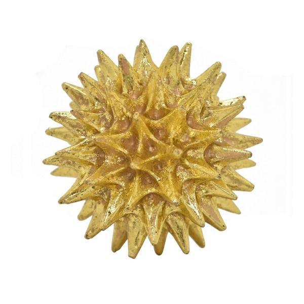 "4.5 "" Spike Orb Tabletop in Gold - 4.5 x 4.5 x 4.5"