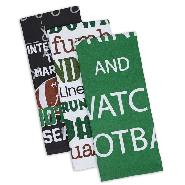 DII Everything Football Dishtowel (Set of 3)
