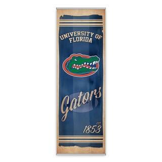 Florida Gators Watercolor Printed Canvas Banner