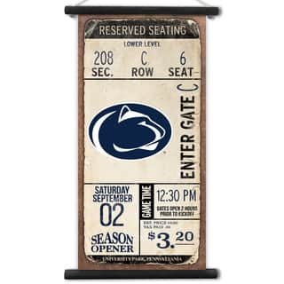 Penn State Nittany Lions Kickoff Printed Canvas Banner