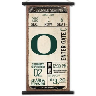 Oregon Ducks Kickoff Printed Canvas Banner