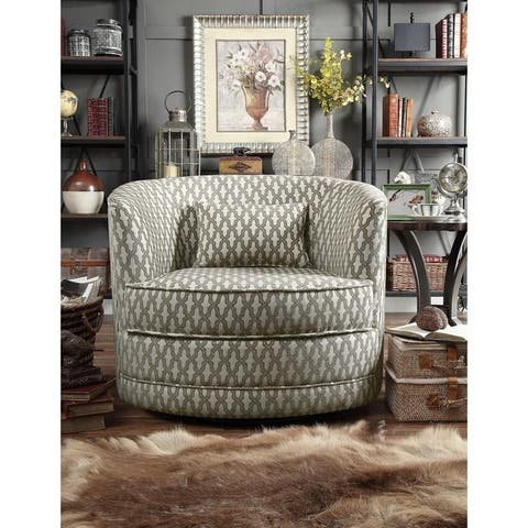 Moser Bay Dmitri Swivel Barrel Chair