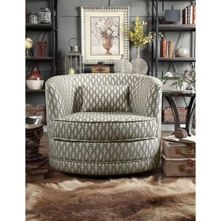 Shop Moser Bay Furniture Isabela Faux Leather Barrel Club