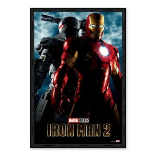 Iron Man 2 Poster Framed Printed Canvas