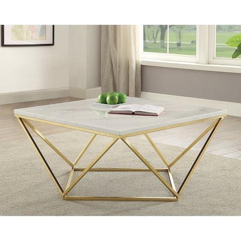 Carson Carrington Lada Geometric Eye-catching Coffee Table