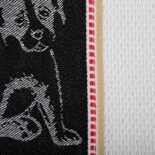 DII Animal Jacquard Dishtowel (Set of 3)