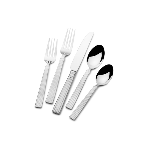 St. James Coronado 18/10 Stainless Steel 90-piece Flatware Set. Opens flyout.