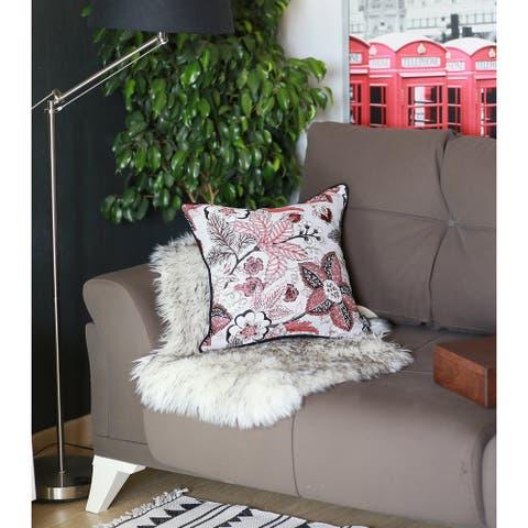 Porch & Den Dawnwood Botanical Throw Pillow Cover