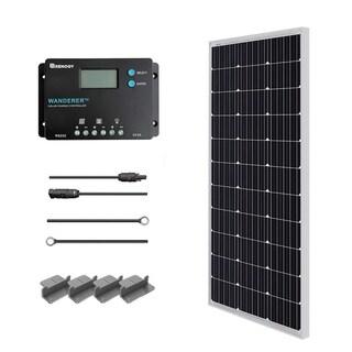 Renogy 100W 12V Monocrystalline Solar Panel Starter Kit