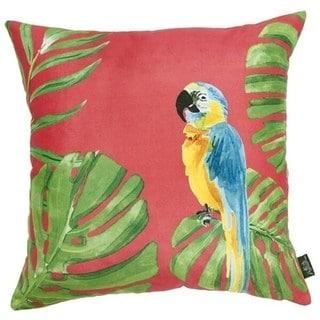 Porch & Den Montego Parrot Throw Pillow Cover