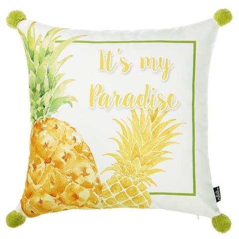 Porch & Den Fuji Printed Throw Pillow Cover