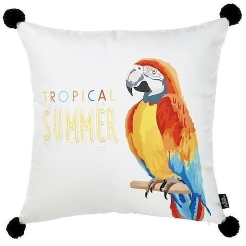 Porch & Den Sunset Parrot Throw Pillow Cover
