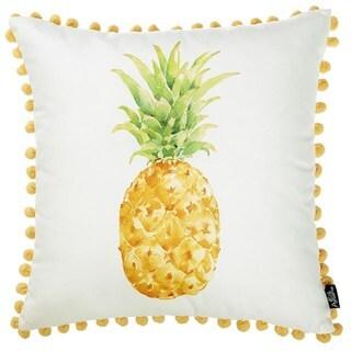 Porch & Den Tropicana Pineapple Throw Pillow Cover