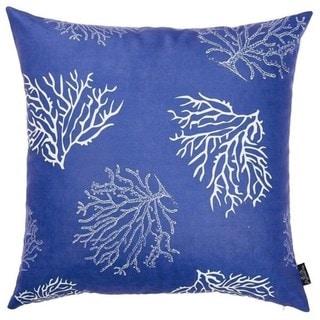 Porch & Den Pebble Beach Blue Reef Throw Pillow Cover