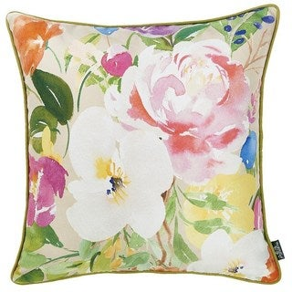 Porch & Den Wentworth Bouquet Throw Pillow Cover