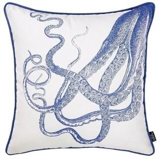 Porch & Den Placido Octopus Throw Pillow Cover