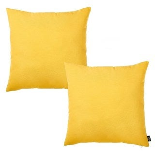 "Easycare Decorative Throw Pillow Case Set Of 2 Pcs (20 ""x 20"") Square"