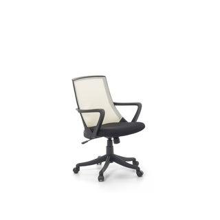 Mesh Swivel Desk Chair Beige ERGO - N/A