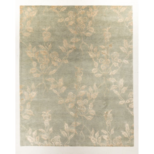 """Hand-knotted Modern Rug - 8'1"""" x 10'0"""""""