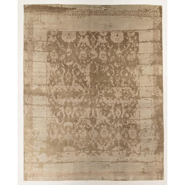 """Hand-knotted Modern Rug - 7'11"""" x 9'11"""""""