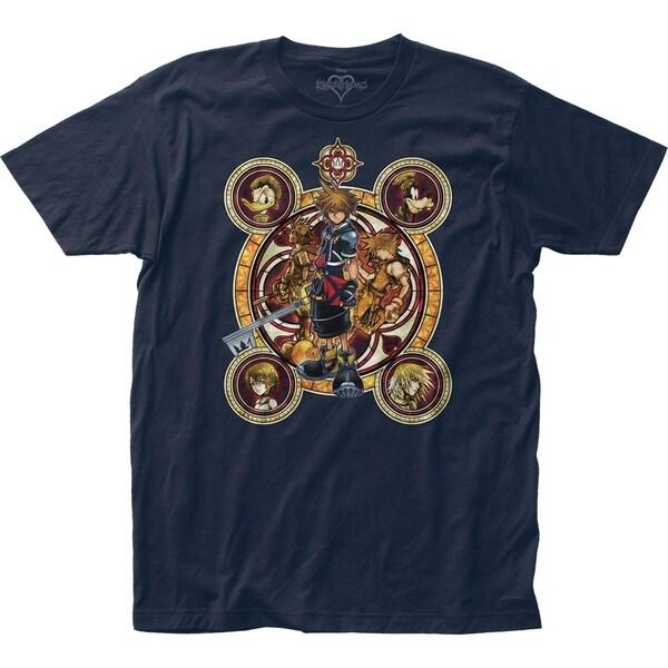 Kingdom Hearts Heroes Crest Tshirt
