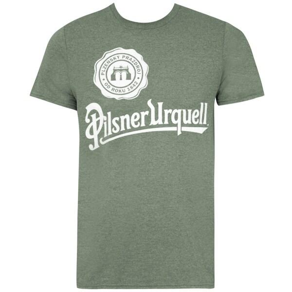 Pilsner Urquell Logo Green Tee Shirt