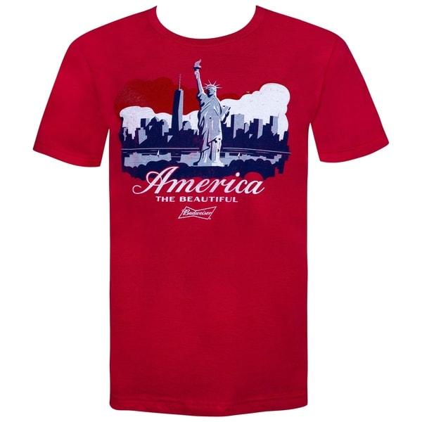 Budweiser NYC Statue of Liberty America Tshirt