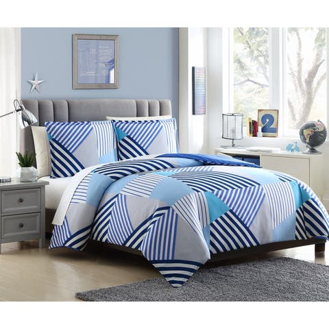 Lemon & Spice Andrew 2 & 3 Piece Reversible Duvet Set