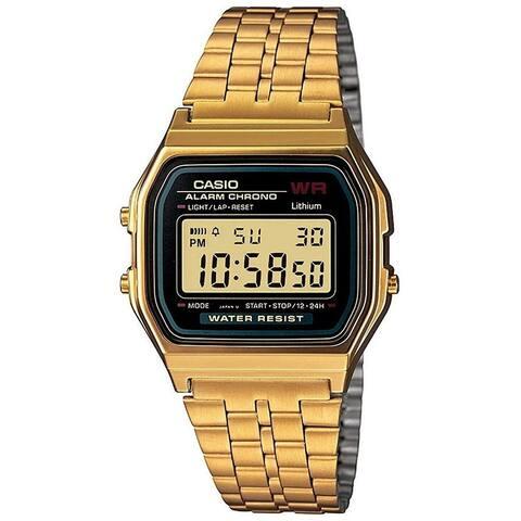 Casio Men's A159WGEA-1VT 'Vintage' Gold-Tone Stainless Steel Watch
