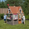 KidKraft Greystone Cottage Playhouse with EZ Kraft Assembly