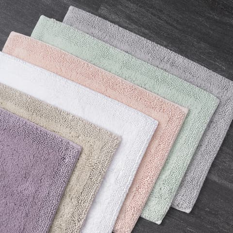 The Welhome Luxury Turkish Cotton Bath Rug