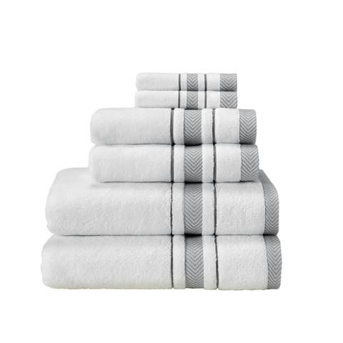 Enchasoft Turkish Cotton 6 Piece Towel Set - N/A