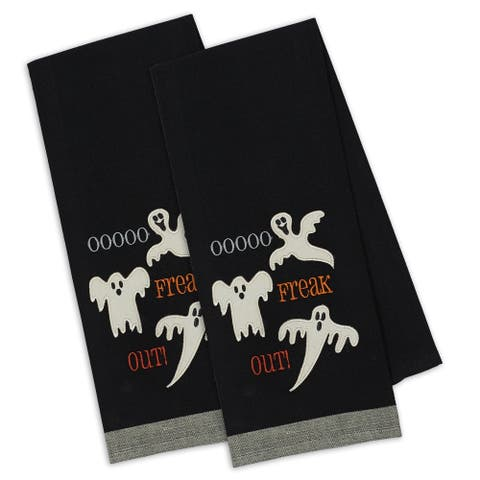 DII Freak Out! Embellished Dishtowel