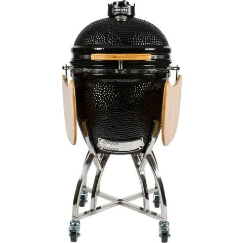 Coyote Asado Smoker Stand and Shelves - Only Cart
