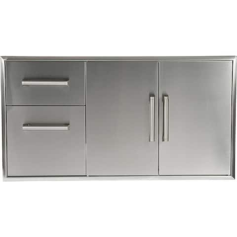 """31"""" Combo doors and drawers"""