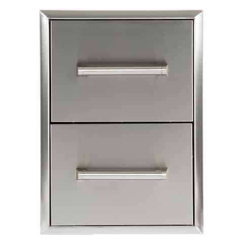 2 Drawer Cabinet SS